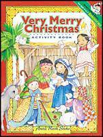 Very Merry Christmas Activity Book childrens gift, childs nativity, christmas gift, christmas nativity, childs toy, childs gift, christmas activity book, 56-1827