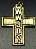 WWJD? Cross pendant