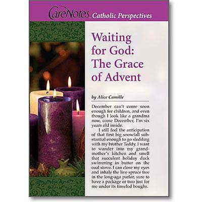 Waiting For God: The Grace of Advent*WHILE SUPPLIES LAST* advent books, books, prayer book, preparation books, 20968, christmas book, seasonal book,