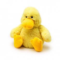 Warmies Junior Plush Duck