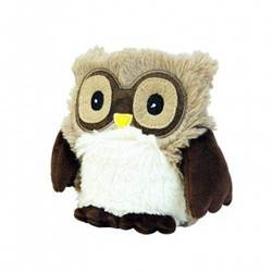 Warmies Junior Plush Hooty Brown