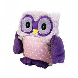 Warmies Junior Plush Hooty Purple