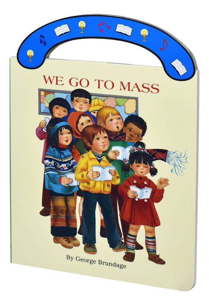 "We Go To Mass St. Joseph ""Carry-Me-Along"" Board Book"