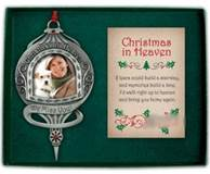 We Miss You Christmas In Heaven Photo Ornament