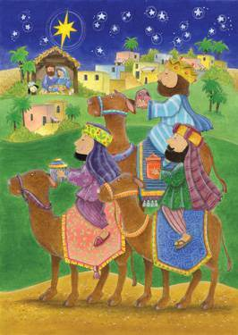 We Three Kings Advent Calendar