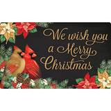 We Wish You A Merry Christmas Door Mat