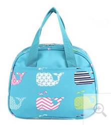 Whale Insulated Lunch Bag