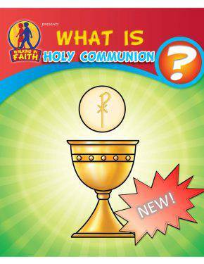 What Is First Holy Communion? Coloring Book