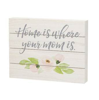 Where Mom is Pallet Box Sign
