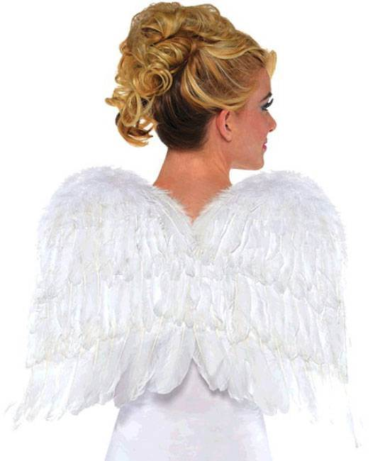 Childrens White Wings Costume Accessory