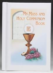 White My Mass and Holy Communion Book