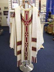 White Y-Shaped Chasuble