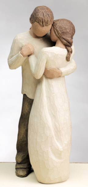 Willow Tree™  Promise Figurine wedding gift, figuine, shower gift, cake topper, couple gift, anniversary gift,