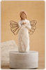 Willow Tree™  Remembrance Angel- Musical susan lordi angels, willow tree angels, willow tree music boxes, willow tree angel musicals, willow tree musical figurines, willow tree angels, willow tree memorial angels, willow tree memorial gifts, memorial gifts, gifts for funerals, in memory of loved one gifts, memorial angels, angel music boxes, angel musicals.