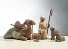 Willow Tree™  Shepherd and Stable Animals nativity, willow tree set, christmas nativity, holiday gift, wedding gift, indoor nativity, home nativity, 26105, stable animals, nativity animals, shepherd