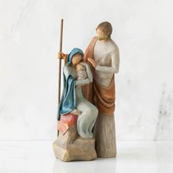 Willow Tree The Holy Family 7.5""