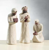 Willow Tree™  Wisemen Set nativity, willow tree set, christmas nativity, holiday gift, wedding gift, indoor nativity, home nativity, 26027, wisemen set, 3 kings,