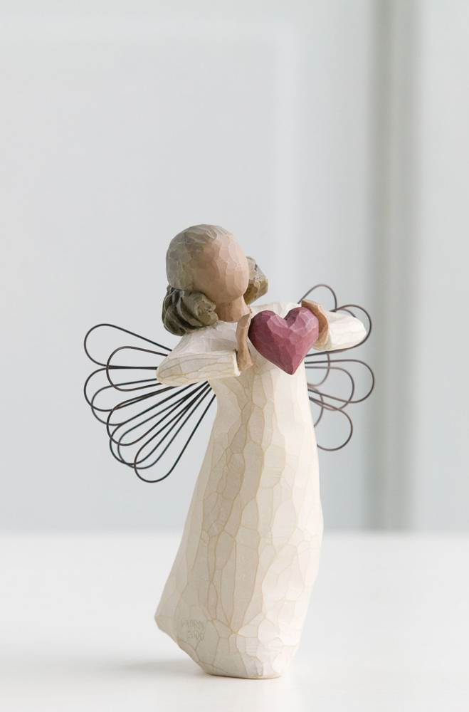 Willow Tree With Love Figure