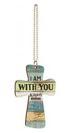 With You Always Car Charm