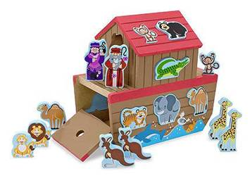 Wood NoahS Ark Shape Sorter
