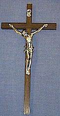 Wood Wall Crucifix wall crucifix, wall cross, wedding gift, first communion gift, confirmation gift, sacramental gift, new home gift, church cross, school cross