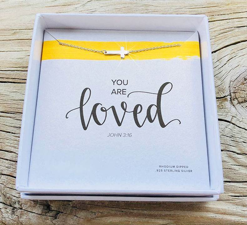 You are Loved Necklace Youth Sterling Silver