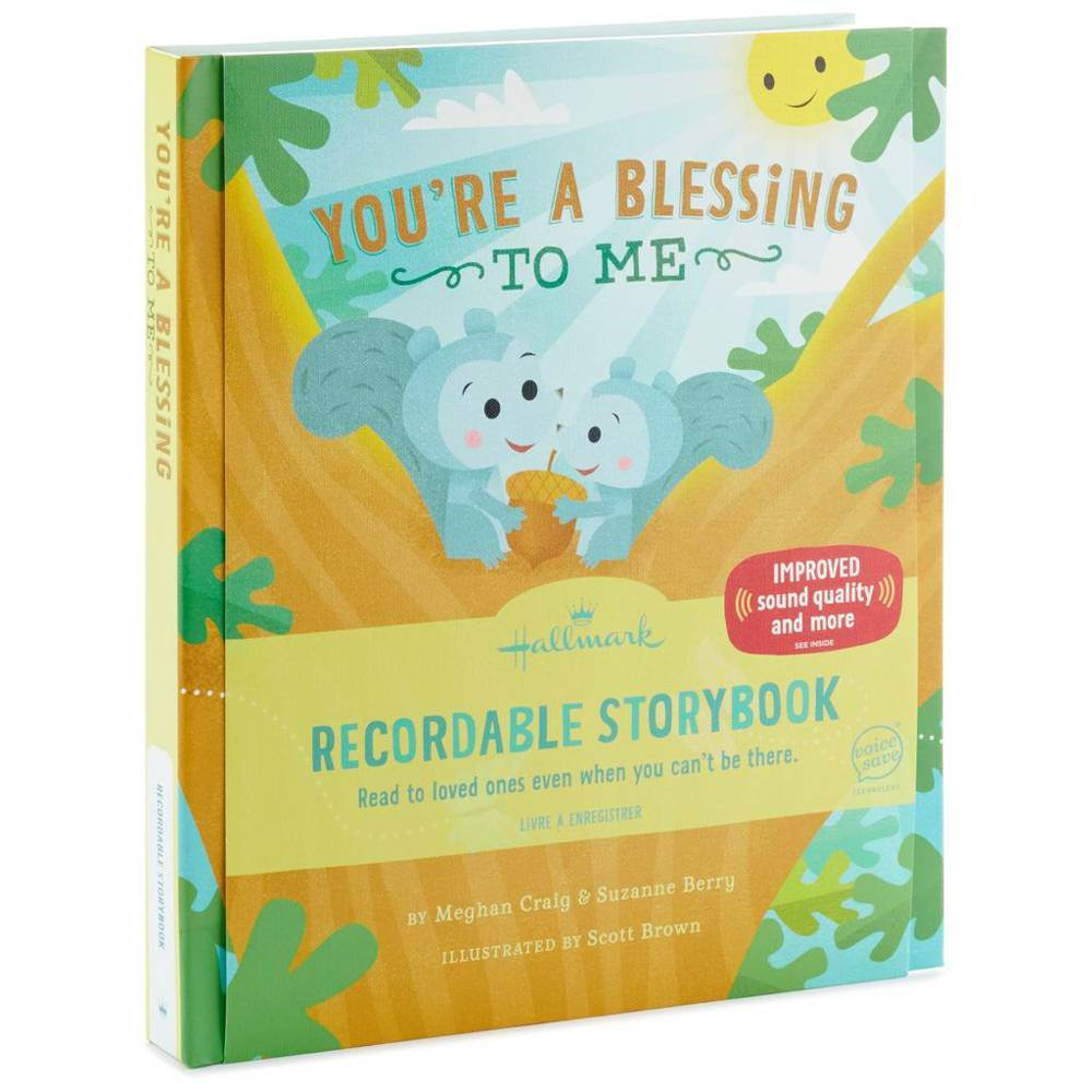 You're a Blessing to Me Recordable Storybook