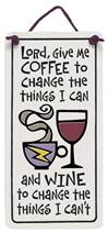 Lord..Coffee/Wine Ceramic Plaque