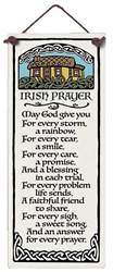 Irish Blessing Ceramic Plaque