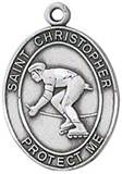St. Christopher Sports Medal-Rollerblading