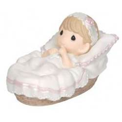 Precious Moments Baptized In His Name precious moments, girl,baptism gift, new baby gift, birthday gift,  porcelain figure, statue, gift, 143011
