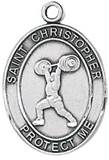 St. Christopher Sports Medal-Weightlifting