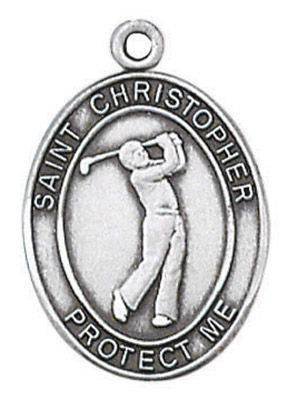 St. Christopher Sports Medal-Golf