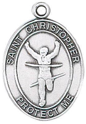 St. Christopher Sports Medal-Track