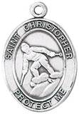 St. Christopher Sports Medal-Skiing