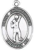 St. Christopher Sports Medal-Volleyball