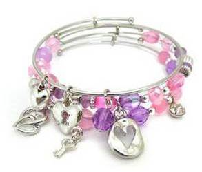 All My Heart 3pc Bangle Bracelet Set
