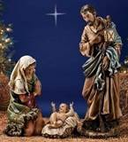 "39"" Josephs Studio Color Holy Family Set"