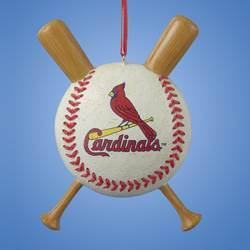 St. Louis Cardinals Baseball Ornament