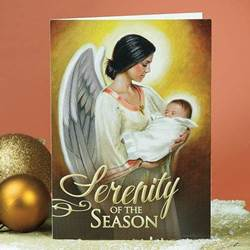 """Serenity of the Season"" Christmas Cards christmas cards, box cards, holy  cards, 53359T, holiday cards"