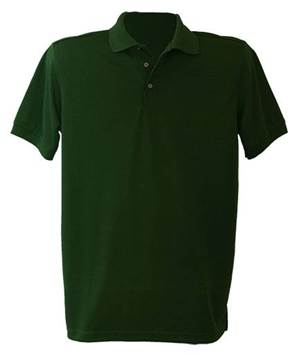 Unisex Hunter Green Performance Knit Polo