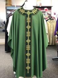 101-1290 Green Philip Chasuble by Arte Grosse