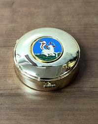 697-N Pyx w/ Lamb Design (Blue)