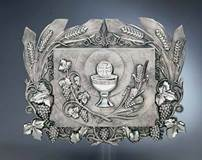 4067 Silver Plated Tabernacle - Wall Mount
