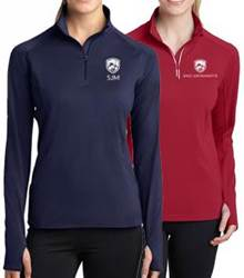 Custom Ladies Quarter Zip Pullover