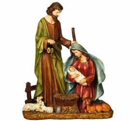 Lighted Nativity Figurine
