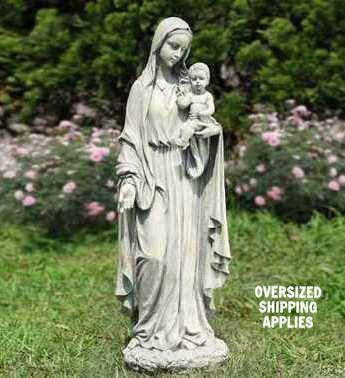 Madonna & Child Statue madonna and child statue, madonna and child,  mary statue, resin/stone statue, mothers day gift, birthday gift, new mom gift,18479