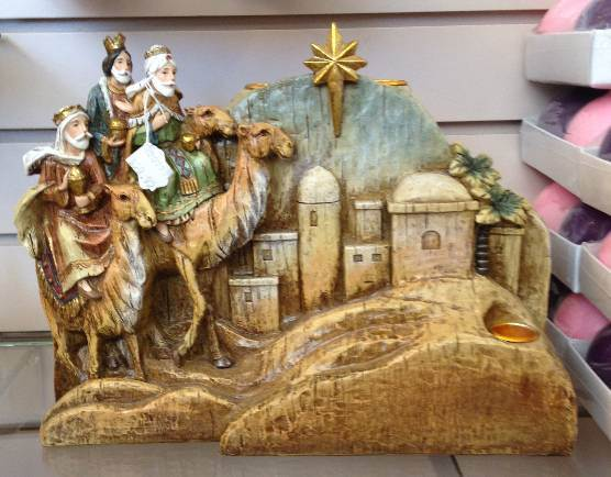 Three Kings Advent Candleholder