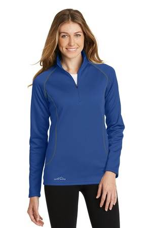 Custom Eddie Bauer Ladies 1/2-Zip Base Layer Fleece - CS-EB237