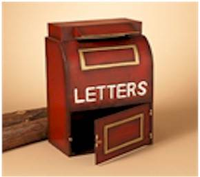 "18"" Metal Letters To Jesus Mailbox"